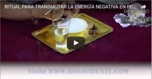 ritual transmutar energía en positiva