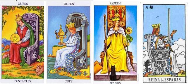 las cuatro reinas