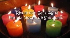 Ritual con Sal y Agua Para la Noche de San Juan