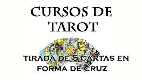 tirada de cinco cartas en cruz