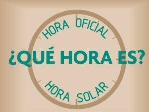 horario solar