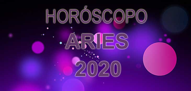 horóscopo aries 2020