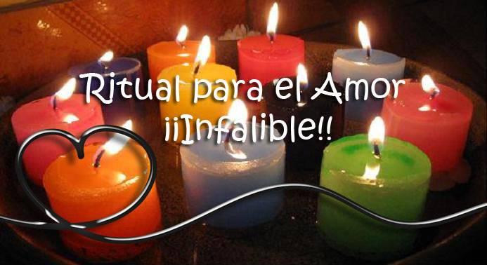 ritual para el amor infalible