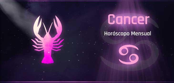 horóscopo mensual Cáncer