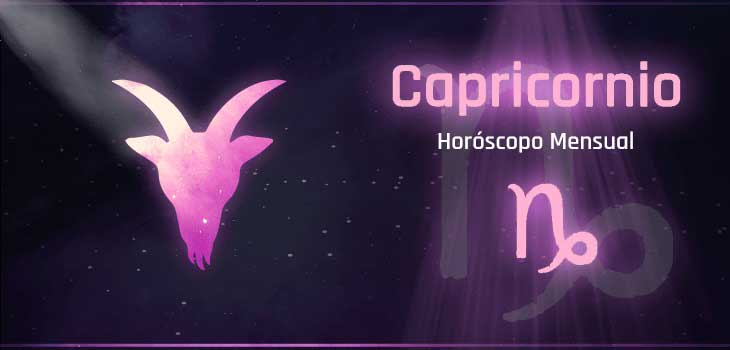 horóscopo mensual Capricornio
