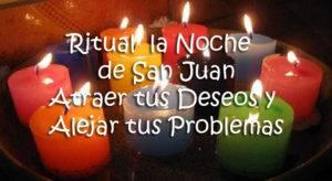 ritual la noche de san juan, atraer tus deseos