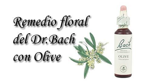 remedio floral con olive