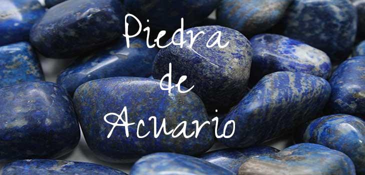 piedra de Acuario