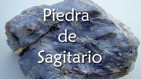 piedra de sagitario calcedonia azul