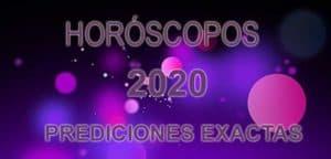 Horóscopos anuales 2020