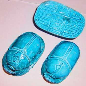 Objeto mágico el escarabajo egipcio